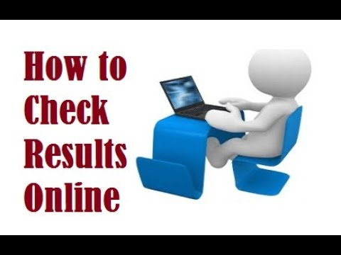 how to check online result ?