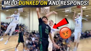 LaMelo Ball Got DUNKED On And Then WENT OFF In Response! Absolute DUNK FEST 😱