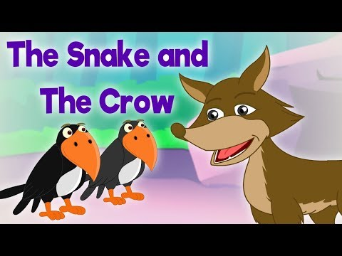 The Snake and the Crow - Panchatantra In English - Cartoon / Animated Stories For Kids