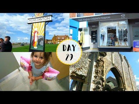 Castle Ruins, Fakenham & Swimming! | VEDA