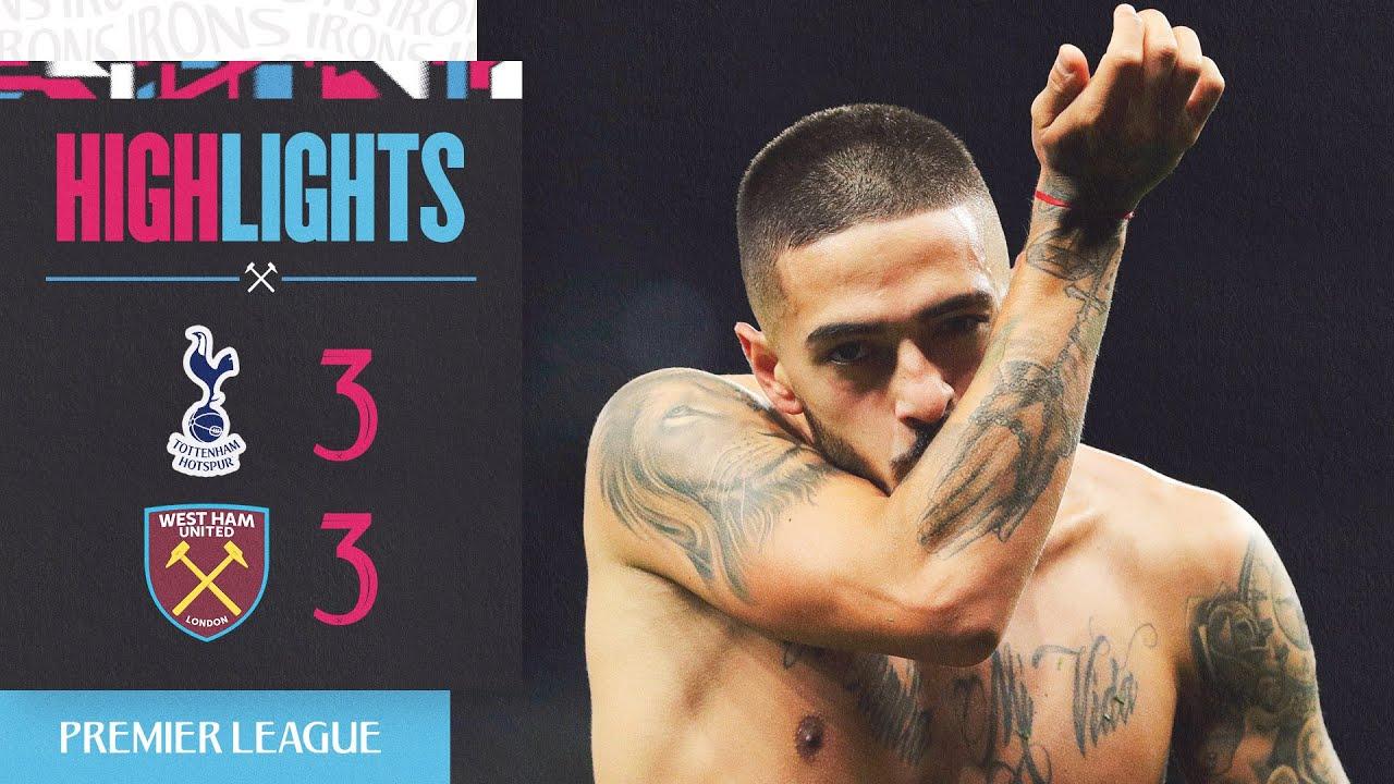 GOALS   SPURS 3-3 WEST HAM UNITED