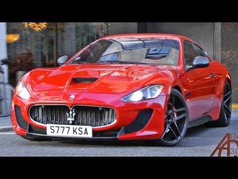 Maserati GranTurismo S Novitec Tridente revs and acceleration [HD]