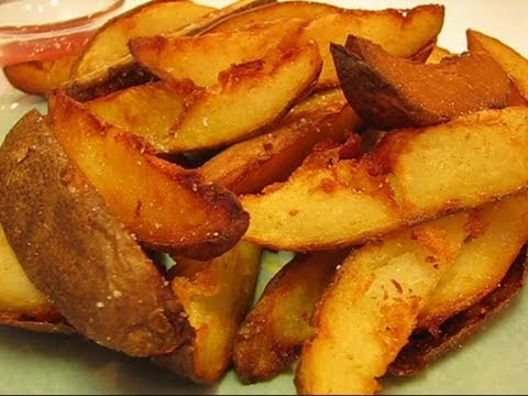 Betty's Deep-Fried Potato Wedges