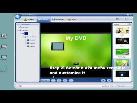 Burn Vuze Movie to DVD for Playback on DVD Players