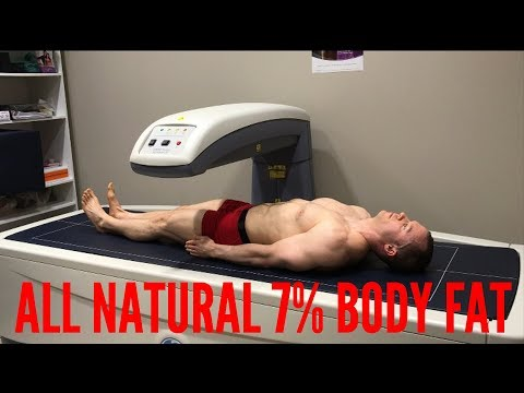 7% Body Fat | 36 Years Old | 100% Natural | DEXA
