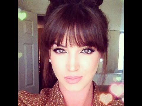 How to style BLUNT BANGS ♡