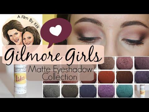 Brija Cosmetics Gilmore Girls Matte Collection + Demo