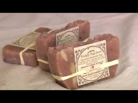 Prickly Pear soap - by Charlene Mercieca from Soap Cafe Malta