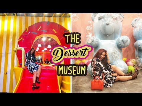 🍰 The Dessert Museum 🍦| What Lover's Do | Conrad Manila,  Philippines  |  Kristen Medina