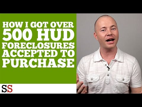 How I Got Over 500 HUD Foreclosures Accepted To Purchase