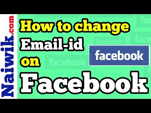 How to change Login Email address of Facebook account from your mobile
