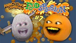 Cantaloupe vs Sword [Annoying Orange Foodsplosion #7]