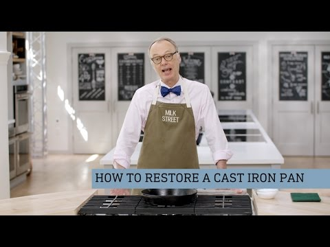 How to Restore a Cast Iron Pan