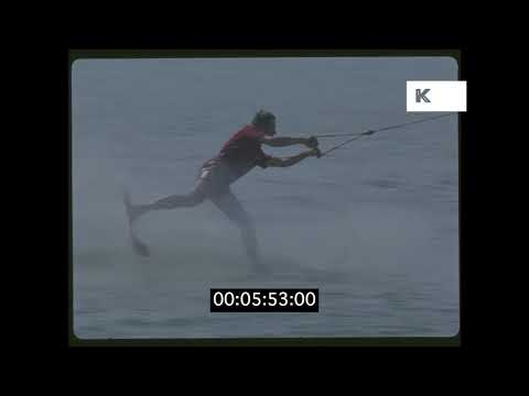 1970s Romania, Waterskiing in HD from 35mm | Kinolibrary
