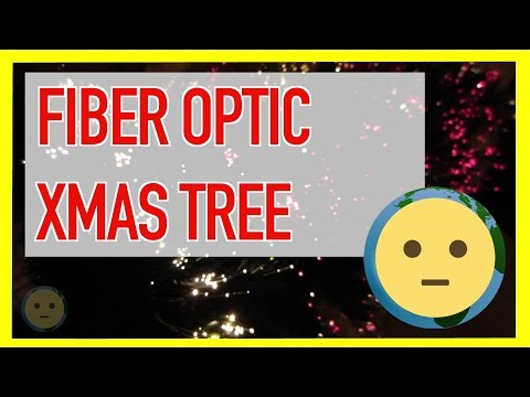 Fiber Optic Christmas Tree w/ LED Lights as Best Pre-Lit Artificial Tabletop Xmas Trees | MySuLonE