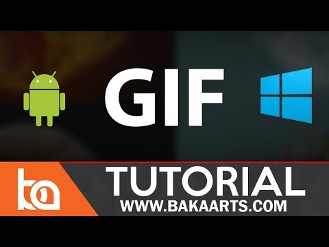 How to set up .GIF as a PC Background & Android Background