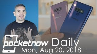 Samsung Galaxy Note 9 smokes Galaxy S9, Pixel 2 XL lags & more - Pocketnow Daily