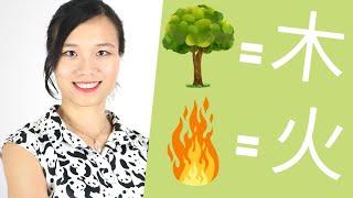 🔴 Primeira aula de Ideograma Chinês! | Clube de Chinês