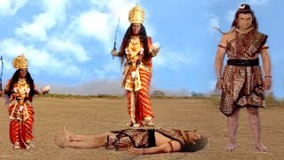 Why Lord Shiva Laid Down In Foots Of Maa Kali ||  English Subtitle Hindi Devotional Serial ||