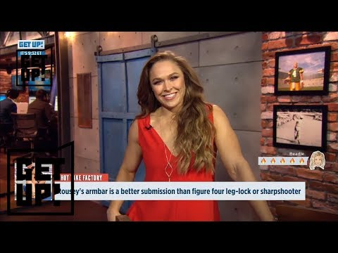 Ronda Rousey has some words for Jalen Rose, Mike Greenberg and Michelle Beadle | Get Up! | ESPN