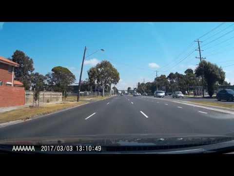 Melbourne Driver #32 - ACN524 Speeding and Runs Red Light