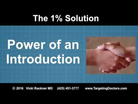 Harness the Power of an Introduction