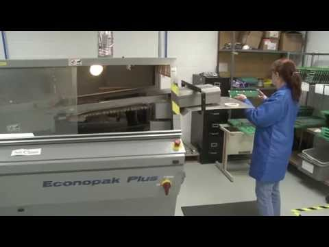 RLC Electronic Manufacturing – Automated Wave Solder Machine