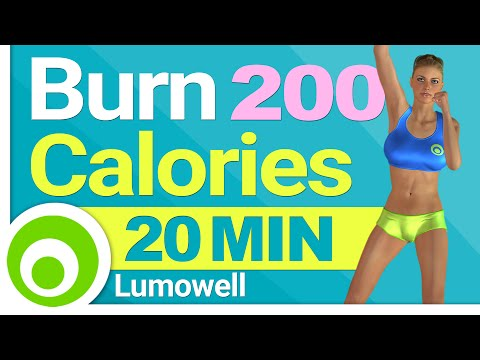How to Burn 200 Calories in 20 Minutes