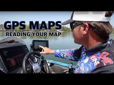 How to read a GPS Map 101 - Electronics tips that will help you catch more fish.