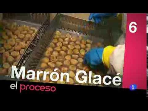 Cómo se fabrica el mejor Marron Glacé de España