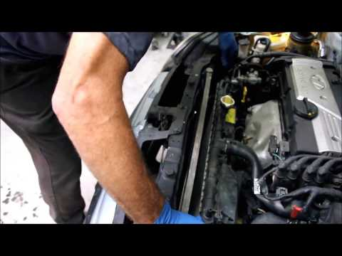 Replacing a Leaking Air Conditioning Condenser - Hyundai Accent