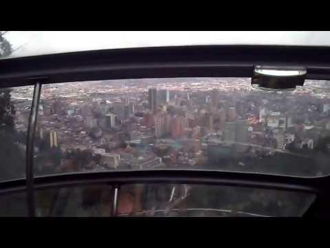 Travelling up to Mount Monserrate - Subida Monte Monserrate: Bogota, Colombia