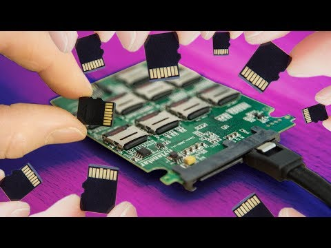 DIY SSD made of SD Cards!