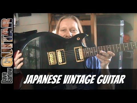 Hondo 2 Guitar - Vintage 1979 Restored