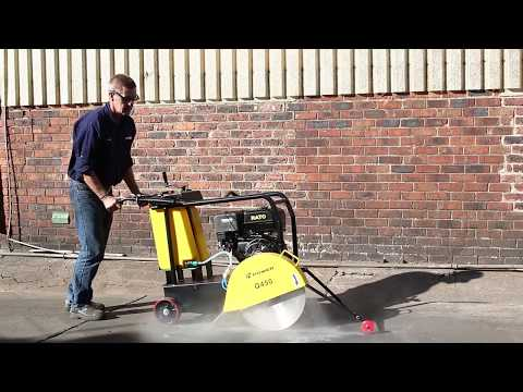 H Power Concrete Cutter driven by Rato Engine