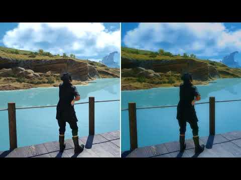 Final Fantasy XV - Enhance Mod Quick Preview