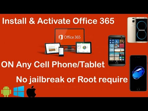 How To Download And Install Office 365 For Smart Phone