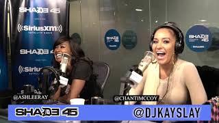 Chanti McCoy interview at Shade45 with Dj Kayslay