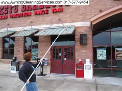 Cleaning Metal Awnings to Remove Rust (Dirt and Bird Droppings) Dallas/Fort Worth TX 817-577-9454