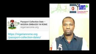 Nigerian Passport Collection