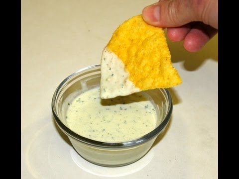Chuy's Jalapeno Ranch Dressing