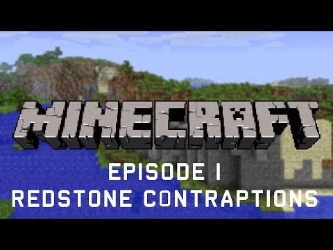Minecraft - Let's Build #1 - Redstone Contraptions