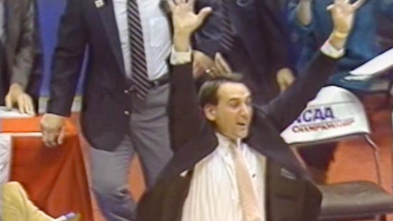 Christian Laettner buzzer beater vs. UConn (1990)