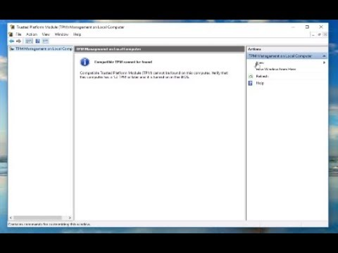 Reset Your Security Processor to Fix Functionality Issues [Tutorial]