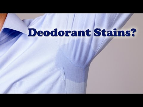 Deodorant Stains - How to Remove Deodorant Stains - Pit Stains Removal