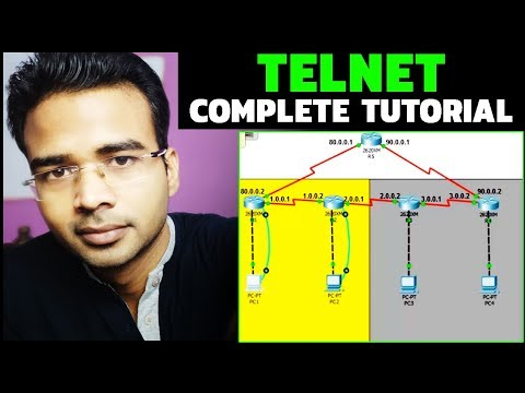 What is Telnet and How to configure Telnet On Cisco Packet Tracer