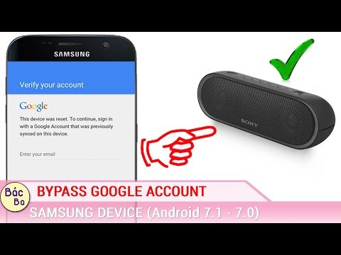 Bypass Google Account All Android 7 1 - 7 0 on All Samsung Devices
