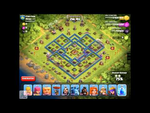 Clash Of Clans 600 lightning spells attack #1 player in the world (Hack) not Developer Ipad