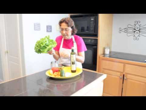 Italian Salad Dressing with Extra Virgin Olive Oil and Lemon