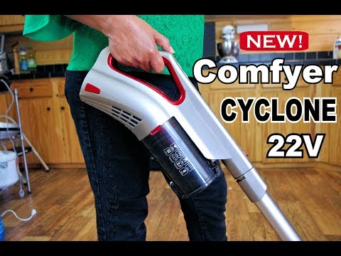 🏡  REVIEW: Comfyer Cyclone Cordless Vacuum.  Live Testing and Demonstration!